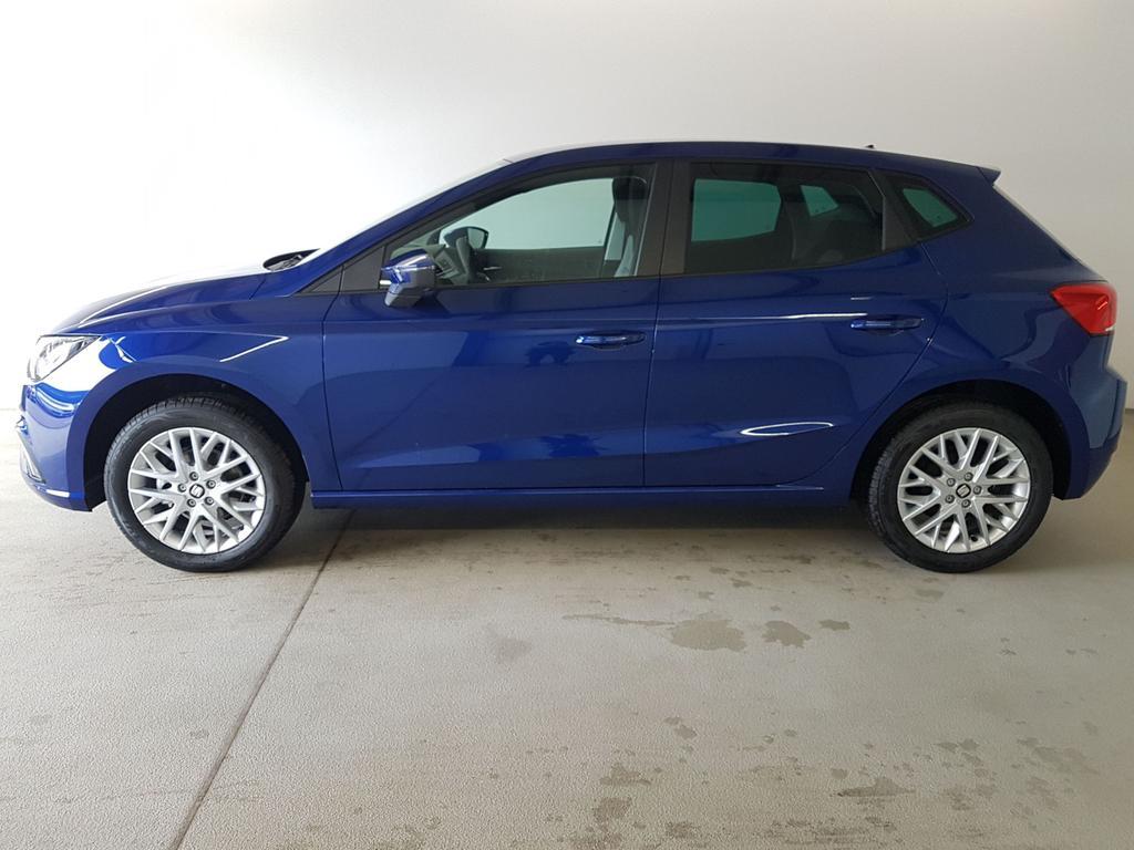 Seat / Ibiza / Blau /  /  / WLTP 1.0 TSI 70kW / 95PS