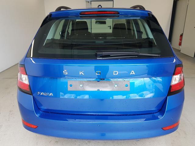Skoda / Fabia Combi / Blau /  /  / WLTP 1.0 TSI 70kW / 95PS