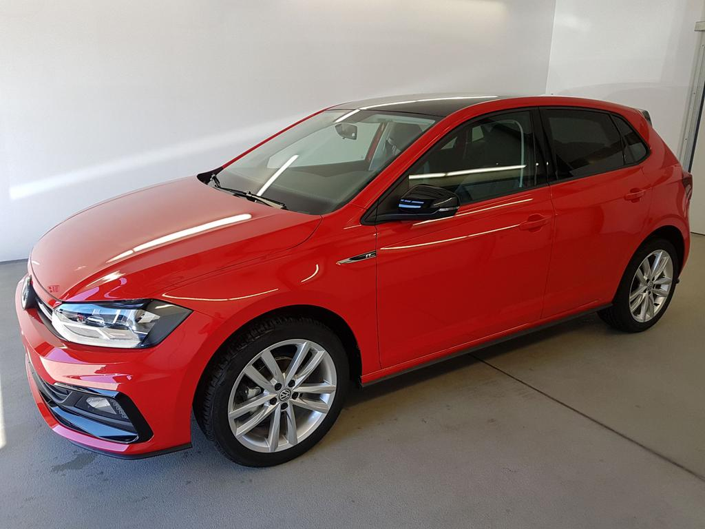 Volkswagen / Polo / Rot /  /  / R-Line 1.0 TSI OPF 70kW / 95PS