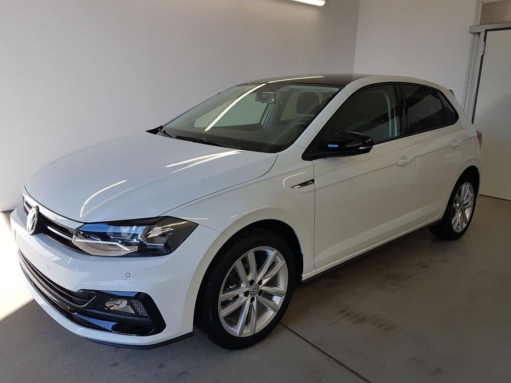 Volkswagen / Polo / Weiß /  /  / R-Line 1.0 TSI OPF 85kW / 116PS