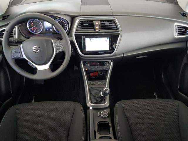 Suzuki / SX4 S-Cross / Blau /  /  / WLTP 1.4 Boosterjet Hybrid ALLGRIP 95 kW / 129PS