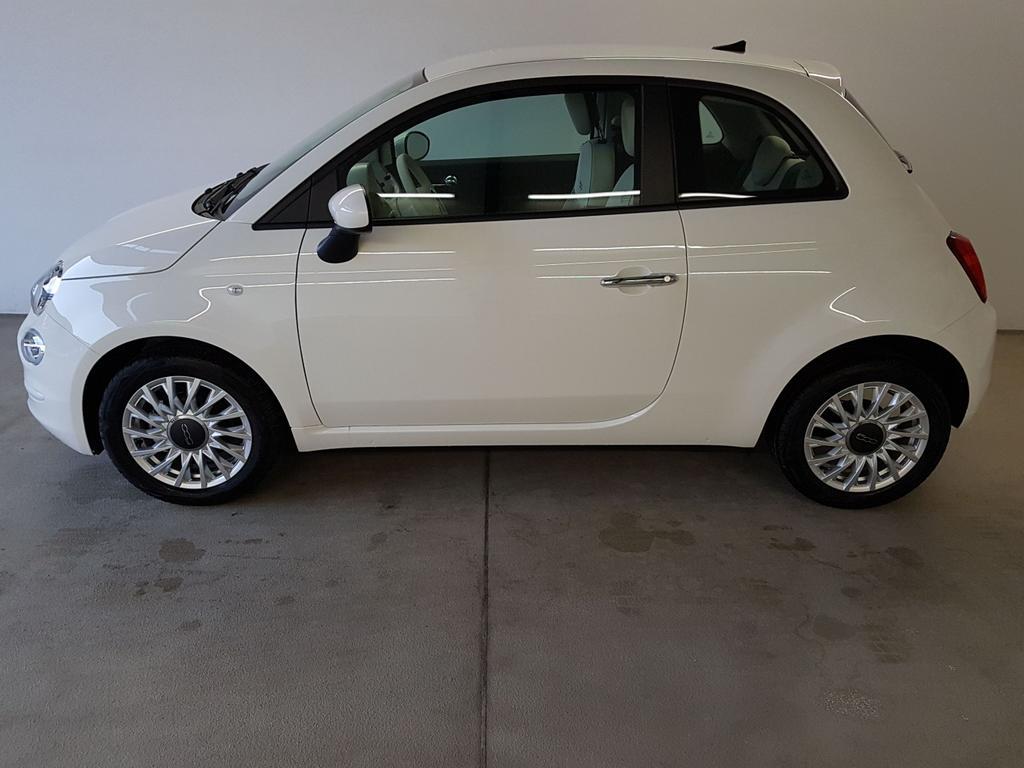 Fiat / 500 / Weiß /  /  / 1.0 Hybrid BSG 51kW / 70PS