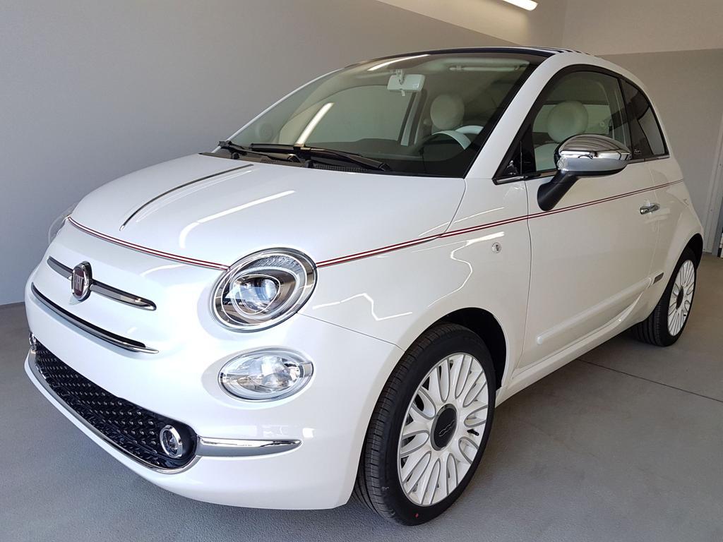 Fiat / 500C / Weiß /  /  / WLTP Navi Climatronic 1.0 Hybrid BSG 51kW / 69PS