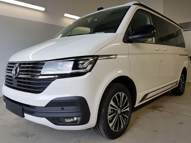 Kurzfristig verfügbares Fahrzeug, wird im Auftrag des Bestellers importiert / beschafft Volkswagen California 6.1 - Beach Tour Edition WLTP 2.0 TDI DSG SCR 4Motion BMT 150kW / 204PS