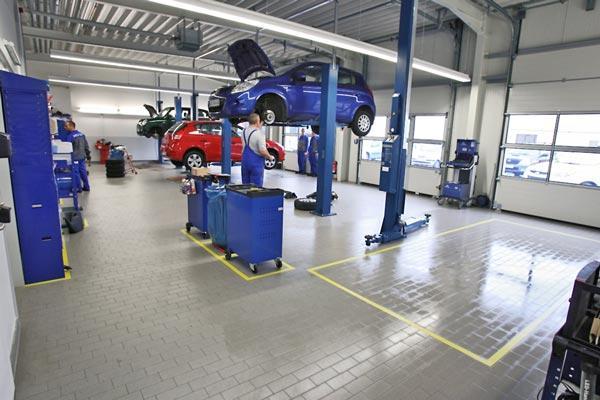 Unsere Hyundai Werkstatt in Teltow.