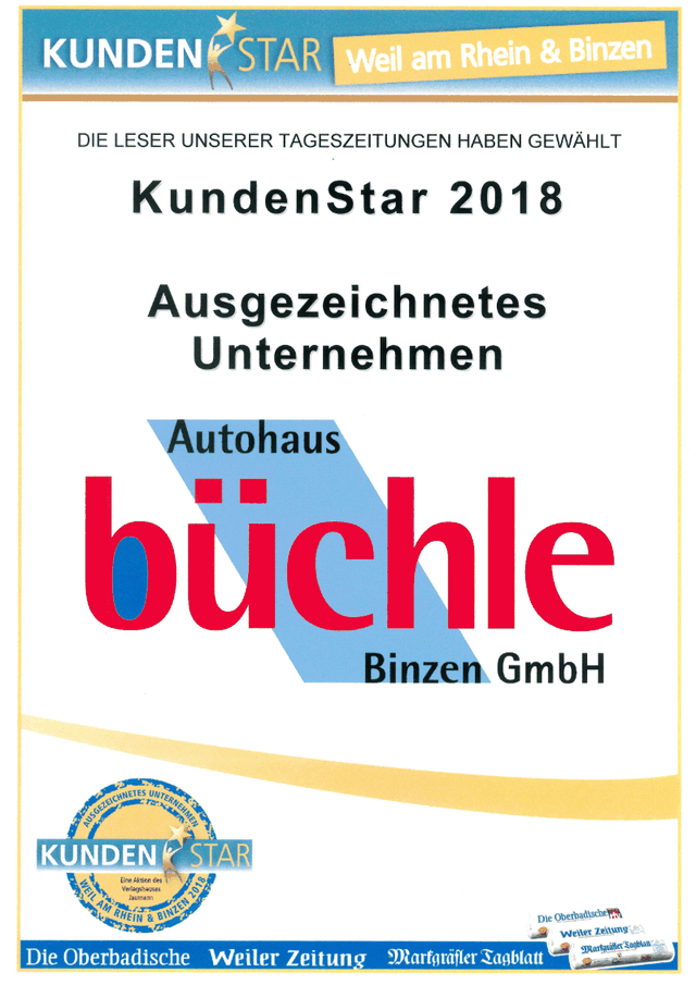 KundenStar 2018