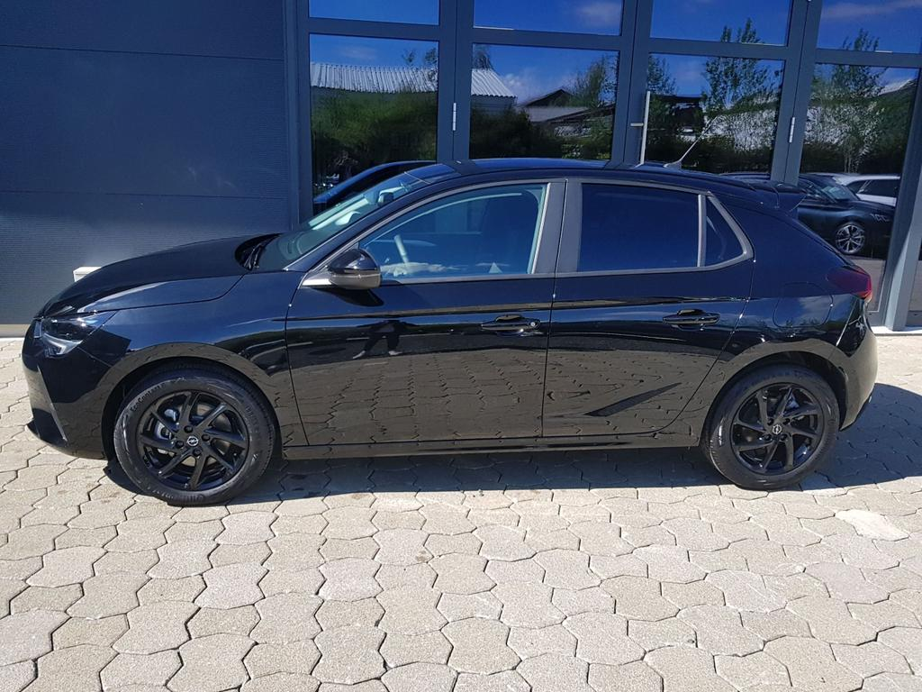 Opel / Corsa / Diamant Schwarz/ Dach Schwarz /  /  / Corsa 1.2 Smile Automatik, Dach schwarz, PDC,DAB