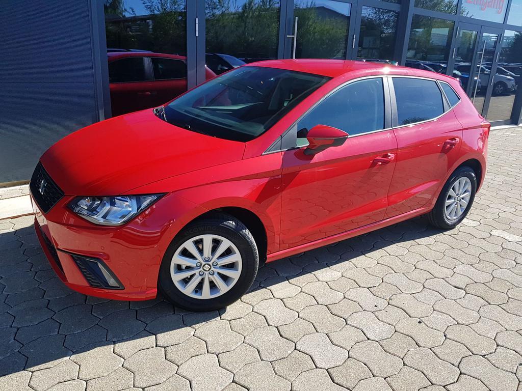 Seat / Ibiza / Pure Rot /  /  / Ibiza Style 1.0 TSI Climatronic, SHZ, PDC, Alu