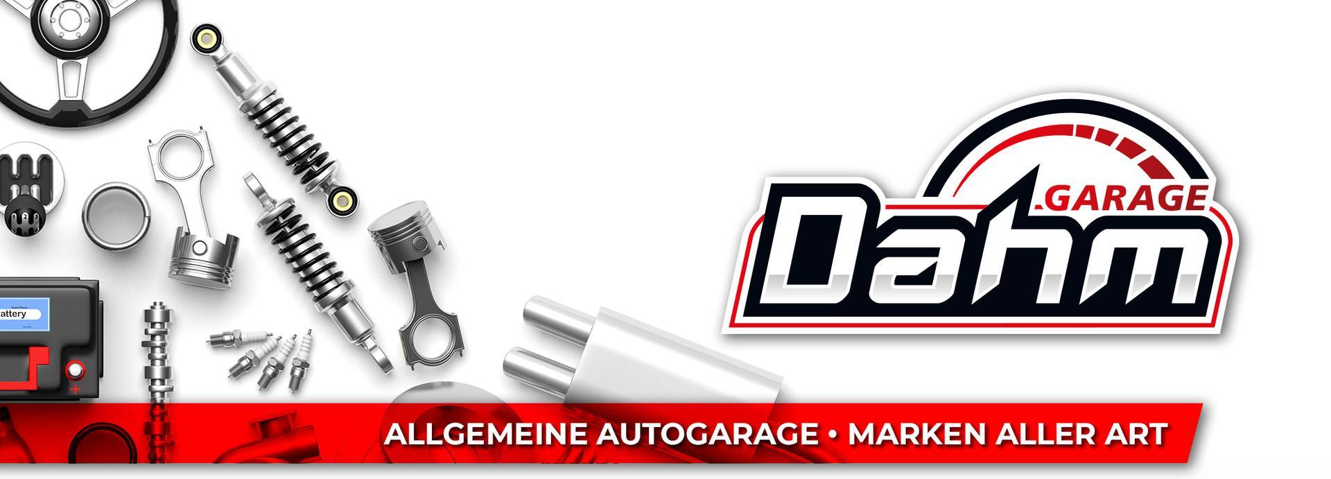 Garage Dahm - Allgemeine Autogarage – Marken aller Art