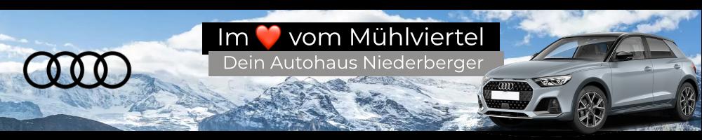 Audi Neuwagen günstig kaufen bei Autohaus Niederberger