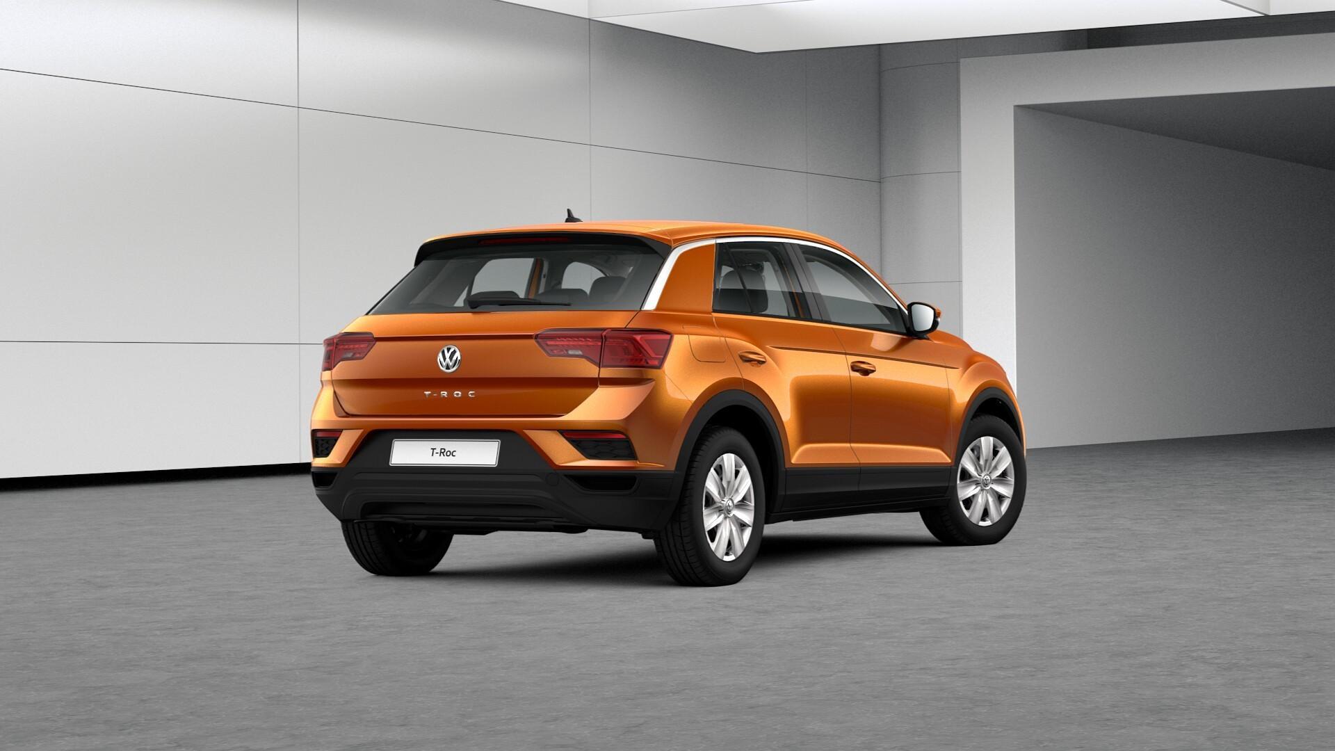 EU-Neuwagen- Volkswagen T-ROC Licht-und-Sicht-Paket/Chester ALU ...