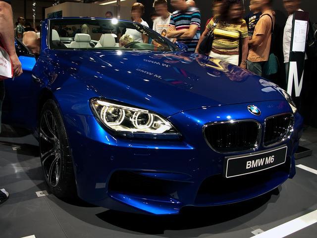 BMW 6er Cabrio - M6