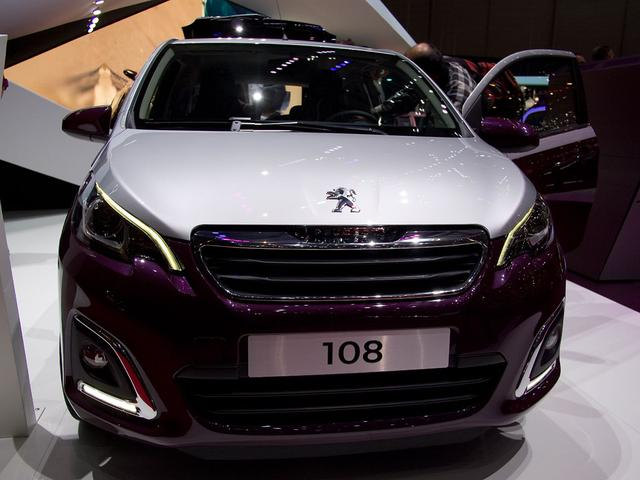 Peugeot 108 Allure VTi 72 STOP & START TOP!