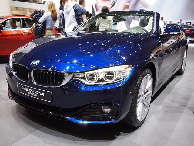 BMW 4er Cabrio - 420d M Sport A