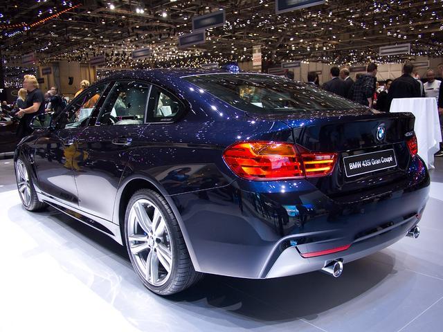 BMW 4er Gran Coupé - 420d xDrive M Sport A