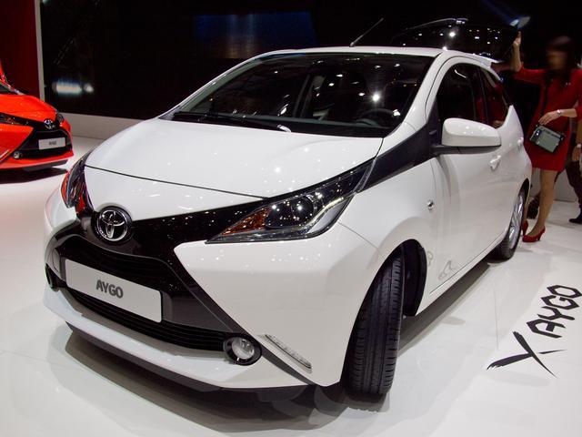 Toyota Aygo - 1,0-l-VVT-i x