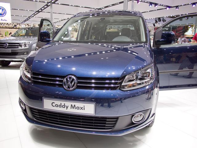 Lagerfahrzeug Volkswagen Caddy Maxi - Trendline 2,0TDi