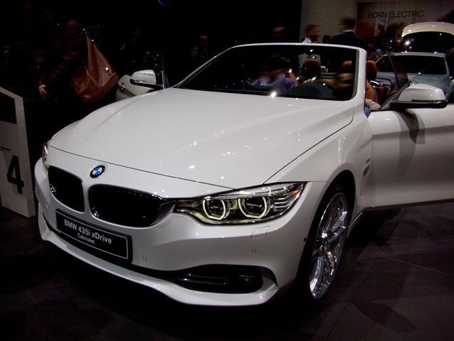 BMW 4er Cabrio - 430d M Sport A