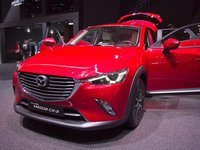 Mazda CX-3 - 2.0 SKYACTIV-G 121 Exclusive-Line FWD AT