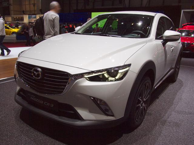 Mazda CX-3 - 2.0 SKYACTIV-G 121 Center-Line FWD