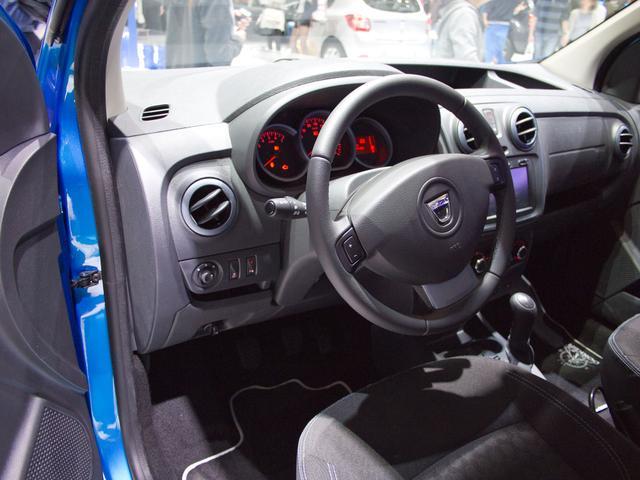 Dacia Dokker Arctica Fracht frei Haus, Klima, Außenspiegel el., Fensterheber el.v., Nebelscheinwerfer, ZV mit Fernbedienung