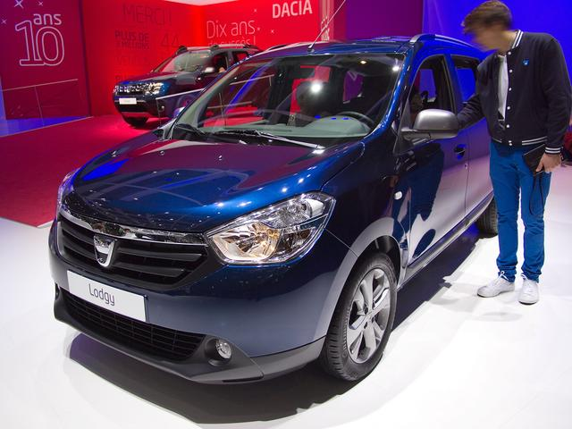 Dacia Lodgy - SCe 100 Access