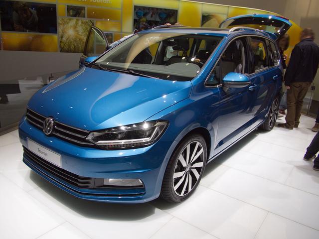 Volkswagen Touran EU - Trendline 1,5 TSI EVO 110 KW