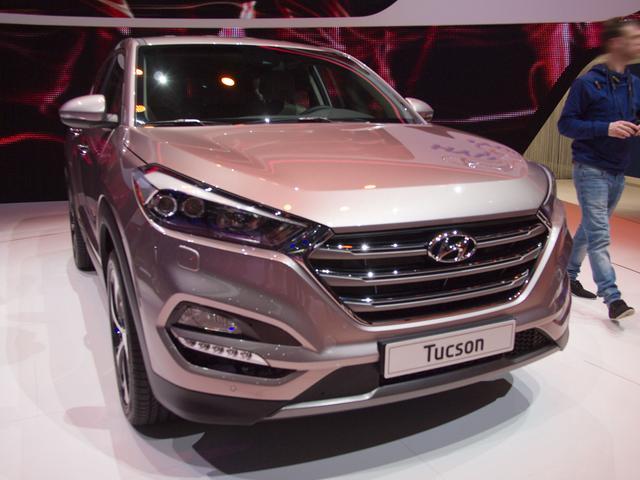 Hyundai Tucson - 2.0 CRDi Auto Style 4WD