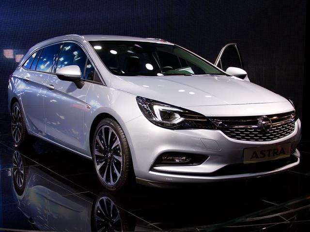 Opel Astra Sports Tourer - ST 1.4 Direct In Turbo 107kW Elegance AT