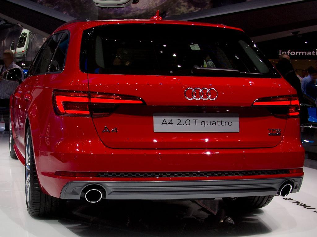Audi A4 Avant Restart Auto