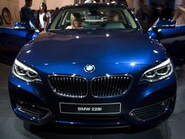 BMW 2er Coupé, Beispielbilder, ggf. teilweise mit Sonderausstattung