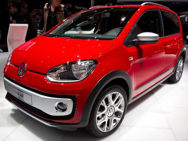 Lagerfahrzeug Volkswagen up! - Cross Up! 1.0l 4tg. PDC GRA Climatronic
