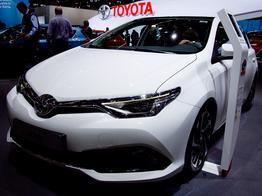 Toyota Auris, Das Bild ist ein beliebiges Beispiel der frei konfigurierbaren Modellreihe