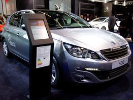 Peugeot 308, Das Bild ist ein beliebiges Beispiel der frei konfigurierbaren Modellreihe