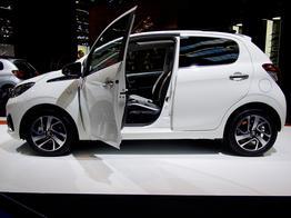Peugeot 108, Das Bild ist ein beliebiges Beispiel der frei konfigurierbaren Modellreihe