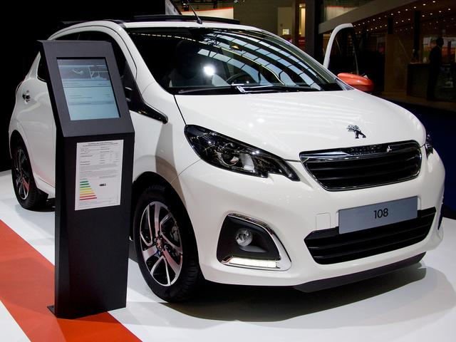 Peugeot 108 - Active VTi 72 STOP & START TOP!