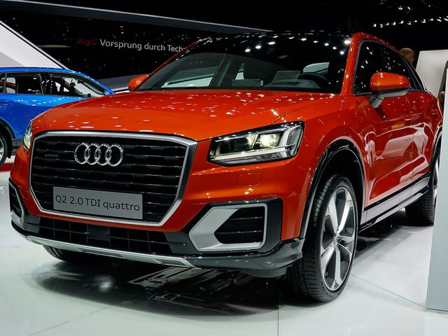 Audi Q2 - 35 TFSI S tronic advanced