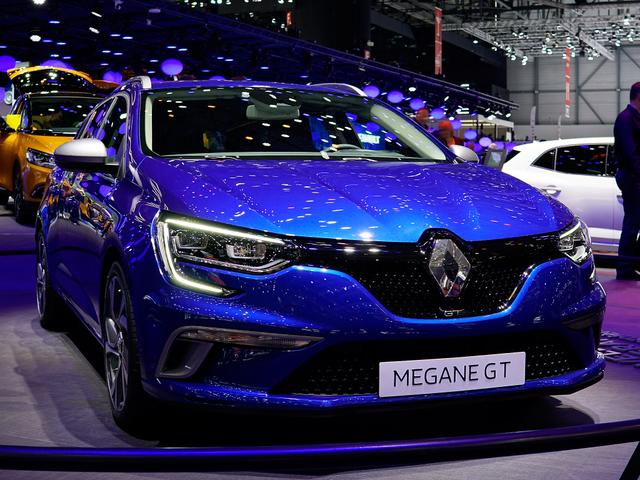 Renault Mégane Grandtour      E-TECH Plug-In 160 R.S. Line