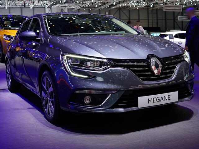 Renault Mégane      BLUE dCi 115 EDC Intens