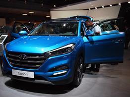 Hyundai Tucson, Das Bild ist ein beliebiges Beispiel der frei konfigurierbaren Modellreihe