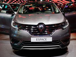 Renault Espace, Das Bild ist ein beliebiges Beispiel der frei konfigurierbaren Modellreihe