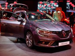 Renault Mégane Grandtour, Das Bild ist ein beliebiges Beispiel der frei konfigurierbaren Modellreihe