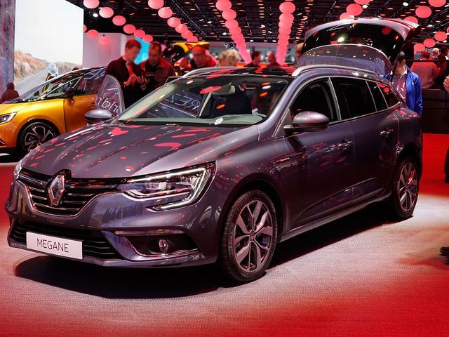 Renault Mégane Grandtour - Limited Vorlauffahrzeug