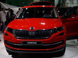 Skoda Kodiaq, Das Bild ist ein beliebiges Beispiel der frei konfigurierbaren Modellreihe