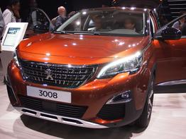 Peugeot 3008, Das Bild ist ein beliebiges Beispiel der frei konfigurierbaren Modellreihe