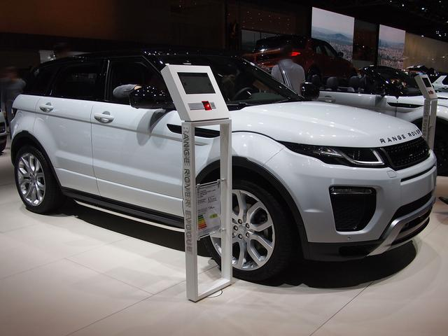 Land Rover Evoque - D150