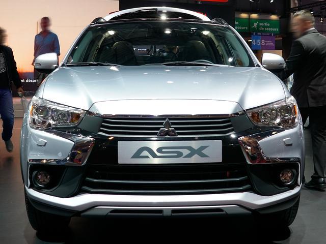 mitsubishi asx 1.6 benziner cleartec top neuwagen-konfigurator