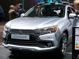 Mitsubishi ASX, Beispielbilder, ggf. teilweise mit Sonderausstattung