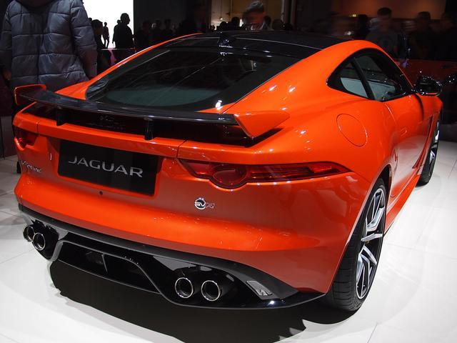 Jaguar F-Type Coupé - 5.0 L V8 SVR Kompressor AWD Automatik