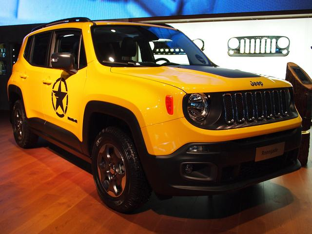 Jeep Renegade - Limited 1.6 MultiJet 4x2 AdaptivTemp Klimaaut PDC DAB